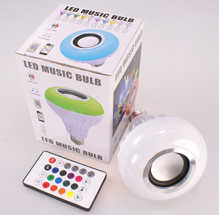 RGB LED Wireless Light <strong>Bulb</strong> Speaker, Smart Music <strong>Bulb</strong> E27 Remote Control 12W LED <strong>Bulb</strong> Speaker,led music <strong>bulb</strong> wireless BT