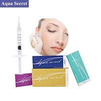 2019 new product Aqua Secret 2ml dermal filler HA injectable hyaluronic acid for anti wrinkle