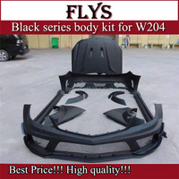 C63 black series body kits style fit for C-class W204 C63 sedan to C63 sedan black series carbon hood