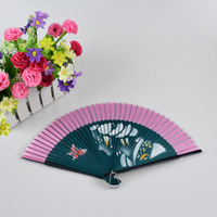 Chinese style customized blank paper hand fan