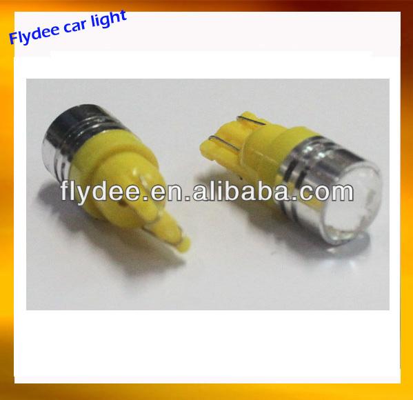 Wholesale Car interior led lights 1.5W T10 len LED bulb high power ...