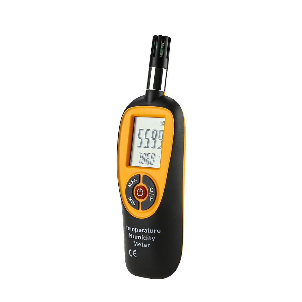 HT-96 Digital Temperature Humidity Meter Tester Instrument Gauge Monitor Air Measure Portable High Precision MIN/MAX