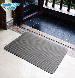 Foot Standing 3D Printed Door Mat Anti-slip Cleaning Mat