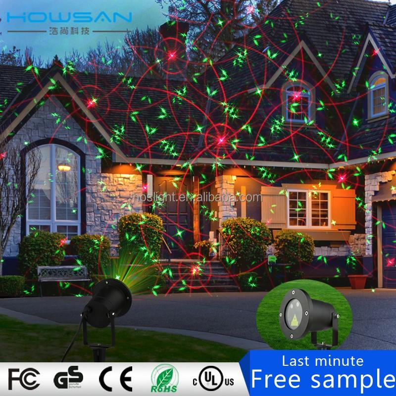 Ip 65 laser weihnachtsbeleuchtung im freien garten licht - Weihnachtsbeleuchtung garten ...
