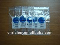 Printed plastic zip lock bag with good sealing