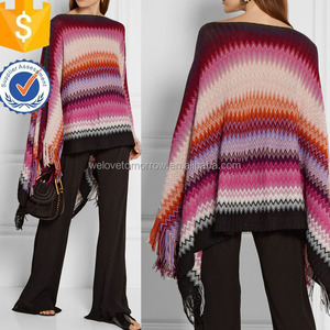 Multicolored Crochet Knitted Modern Sweater Wrap For Ladies Manufacture Wholesale Fashion Women Apparel (TS0175S)
