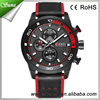 Trade Assurance Curren Top Brand Man Wrist Sport Casual Date Week Leather Military Watch Wristwatch Clock 8253