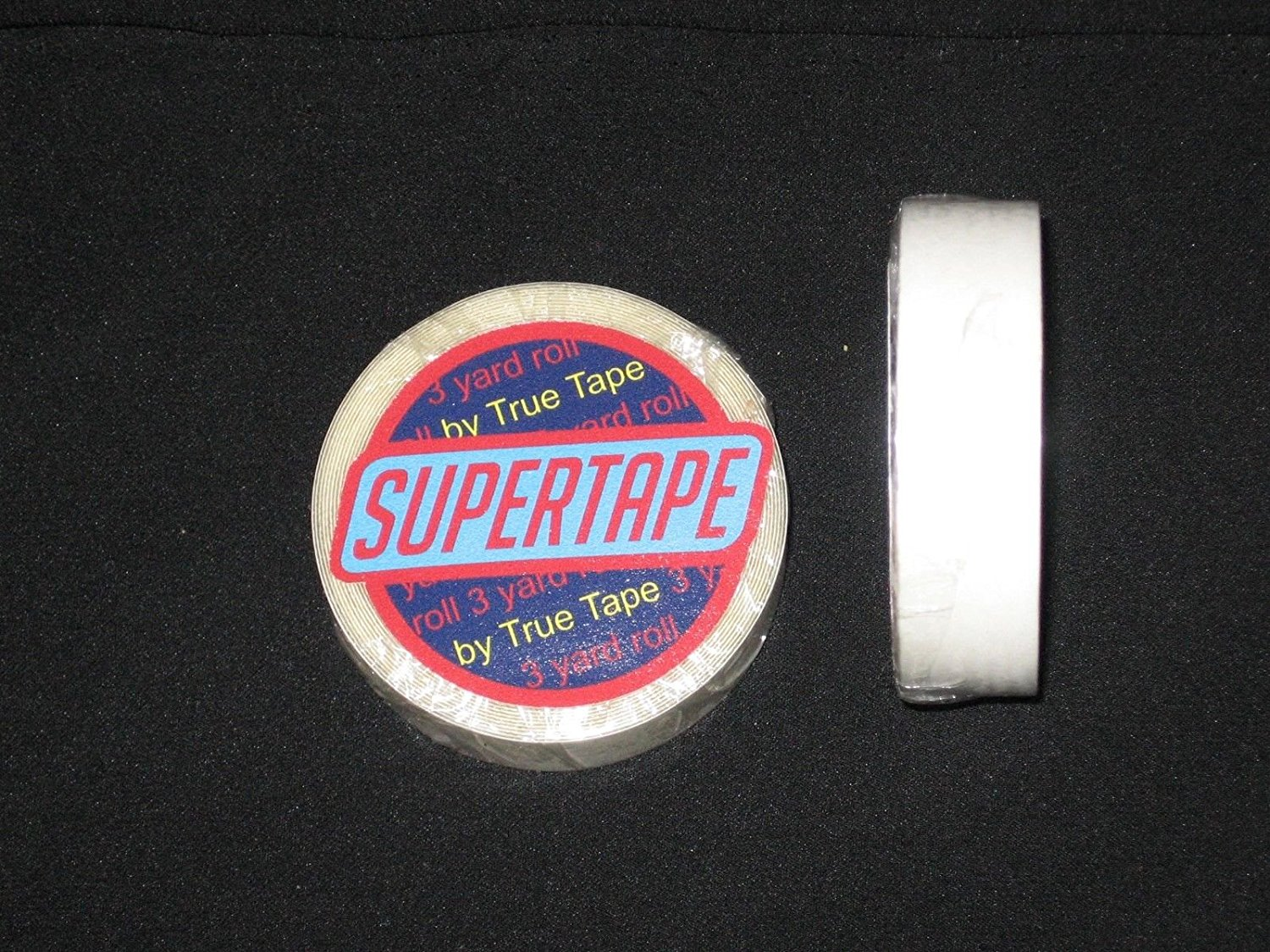 """Supertape 1/2"""" X 3 Yard Roll Tape Non Glare Lace Wig by True Tape"""