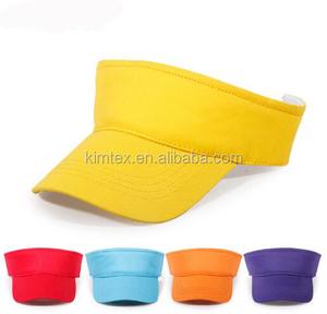 6d678a80f59 Plain Sun Visor Hat