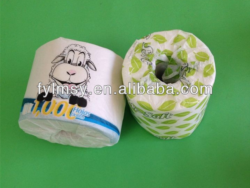 custom printed toilet paper rolls uk OEM 5/8/10/20 ply unbleached tissue paper for toilet
