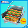 home commercial use Chinese hamburger making machine electric hamburger baking machine