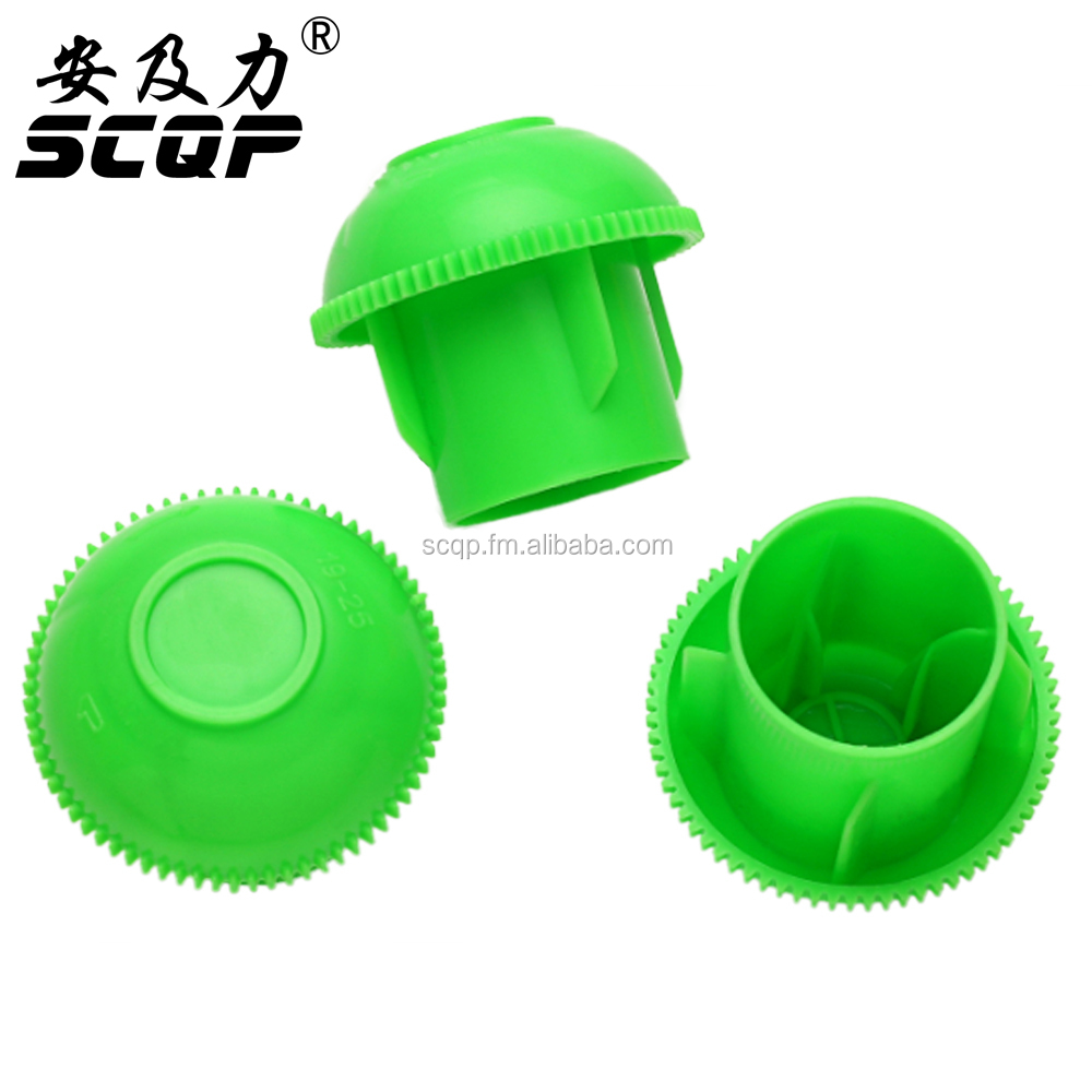 Factory Direct SCQP 19-25MM Threads Plastic Safety Rebar Cap For Twisted Steel Bar