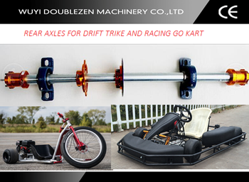 how to build a drift trike rear axle