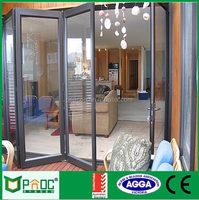 Windows And Doors Parts/Aluminium Bi Fold Glass Door/Glass Patio Door Prices