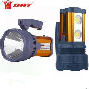Waterproof LED searchlight AT-398 high power spotlight with USB function