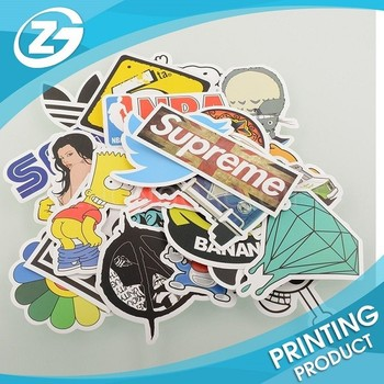 Factory direct sale pack of 50 stickers skateboard snowboard vintage graffiti laptop