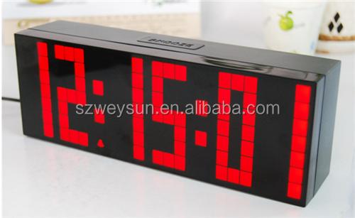 Große LED Digital Wecker Hintergrundbeleuchtung Countdown Schlafzimmer Uhren  Temperatur Kalender Dekoration Uhr
