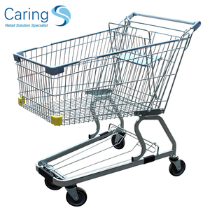 Supermarket Shopping Trolley/Shopping cart/Chromed hand trolley CA-125L