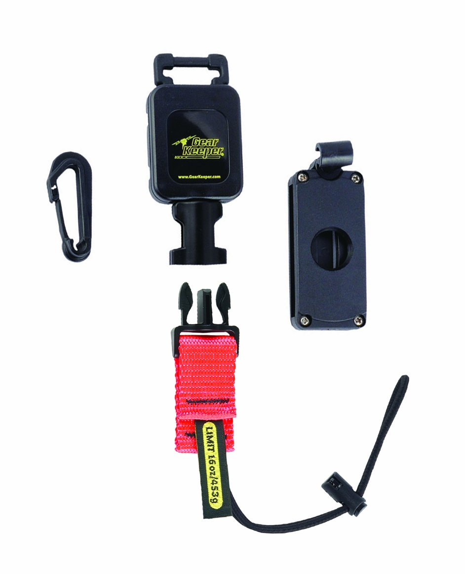 """Gear Keeper RT4-5601 Retractable Tool Lanyard with 2-Axis Rotation Clamp-on Belt Clip, 16 oz Tool Limit, 36"""" Length"""
