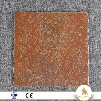 Romantic Terra Clinker Floor Tileceramic Antique Curved Edge Tile