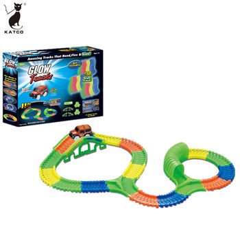 Wholesale Racing Cars Plastic Battery Operated Mini Race Track for Sale