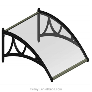 Plastic Shelters Canopies Patio Cover Awning Window Gardenning