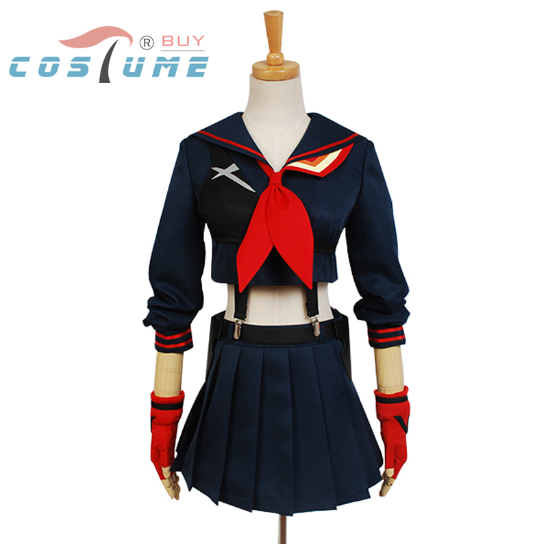 2a5bb80136b38 KILL La KILL Ryuko Matoi Japanese Anime Party Halloween Cosplay Costumes  For Women Girls Dress Custom Made Free Shipping - Womenu0027s Beauty Store  ...