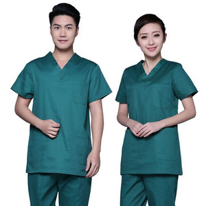 Scrubs Medical Uniform Women and Man Scrubs Set Medical Scrubs Top and Pants