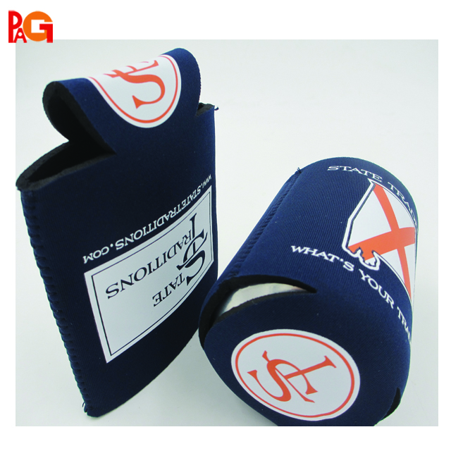 330ML (12 OZ) Collapsible Neoprene Can / Beer / Bottle / Beverage Cooler / Coolie / Cover / Insulator / Holder / Sleeve