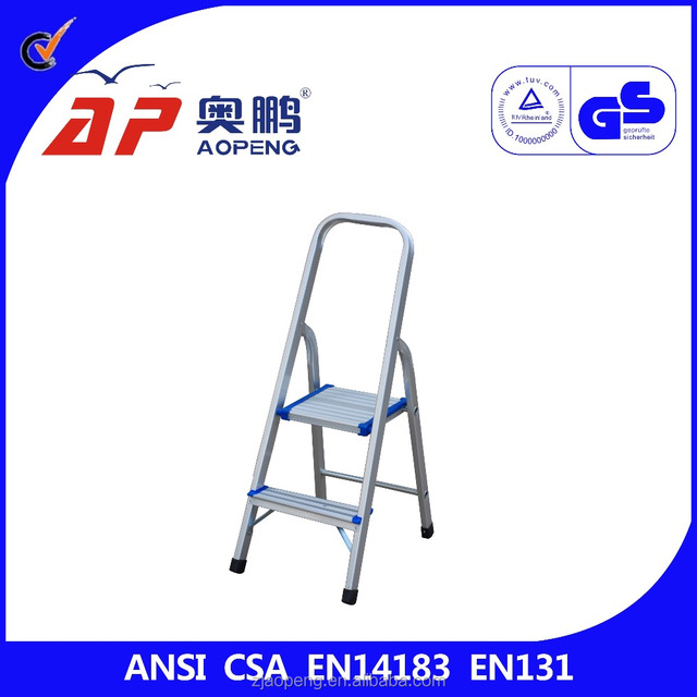 indoor kid climbing 2 step stool ladder aluminum step folding ladder with handle and square top  sc 1 st  Alibaba & folding step stool kids-Source quality folding step stool kids ... islam-shia.org