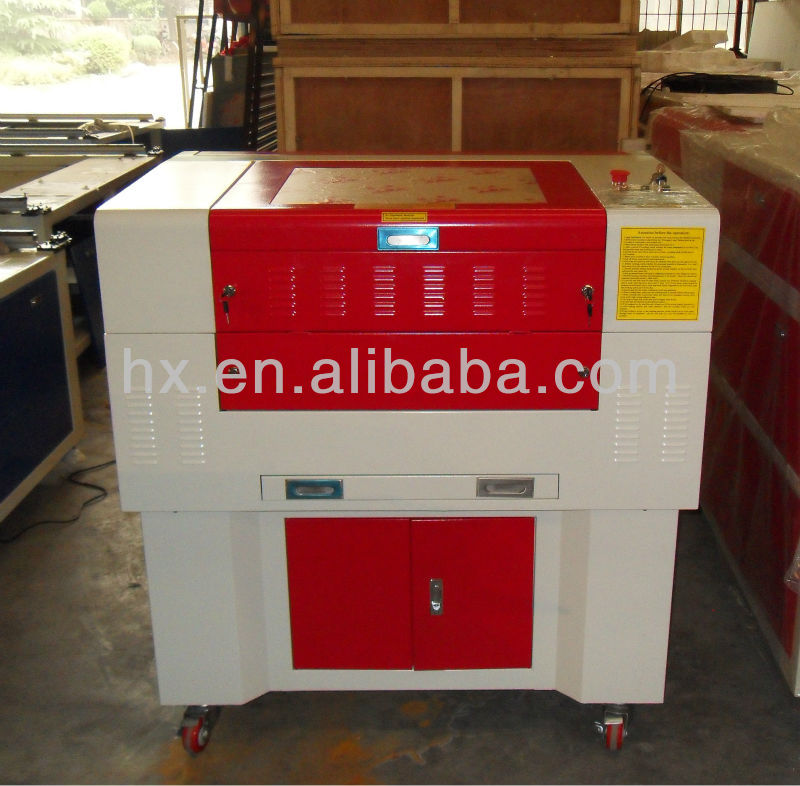 China supplier King Rabbit HX-6090SE <strong>laser</strong> cutting machine for sale