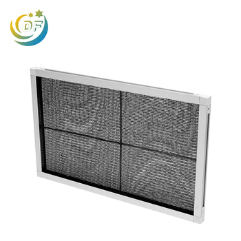 Top quality design panel air filter frame nylon air fmesh filter