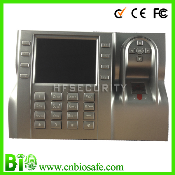 HF-Iclock580 Sdk Free Biometric Device Reads Fingerprint And/Or Pins Stand Alone Fingerprint Time Clock