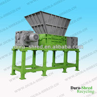 FAG Bearing Double Shaft Shredder for Waste Plastic With CE Certificate Designed by US Technologies