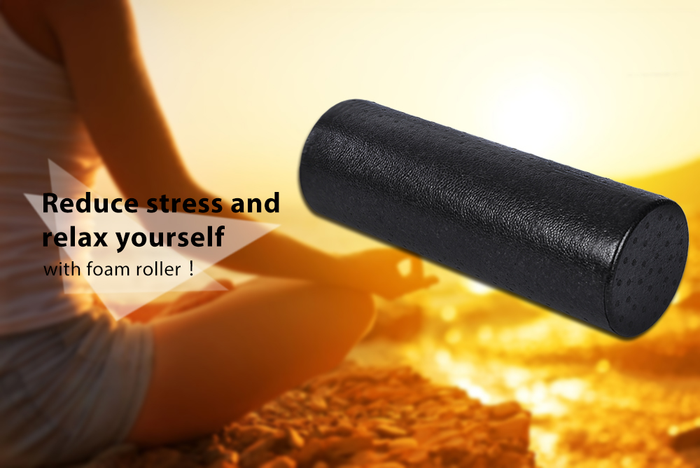 MILY SPORT EPP Yoga Fitness Physio Massagegeräte Schaumstoffrolle ...