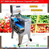 FC-305D Electric Automatic Chilli Cutter Machine, Chilli Pepper Ring Slicing Cutting Machine (#304 stainless steel)