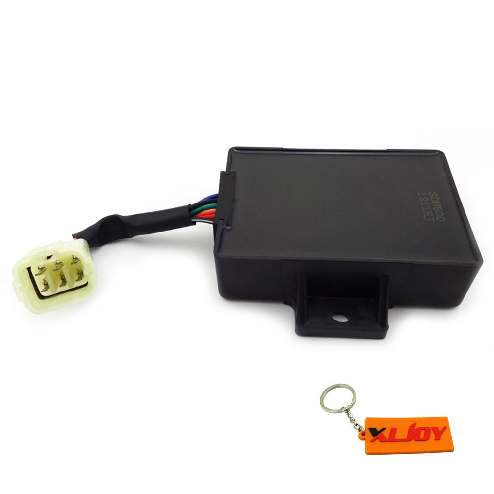 XLJOY 6 Pin ECU REV CDI Ignition Unit Box for Kazuma Jaguar 500 4X4 500cc ATV Quad UTV