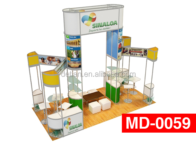 China display 3*6 stand exhibition equipment , electronics showroom display , exhibit booth construction