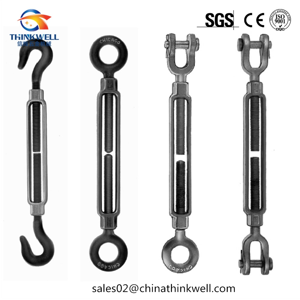Dropped Forged US Type Clevis and Eye Frame Turnbuckle