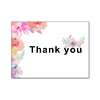 Floral Thank You Cards with Envelopes 4 x 6 in Folded Modern Watercolor Flower Thank You Note Greeting Cards