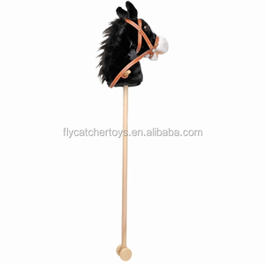 Anhui Flycatcher toys Hobby horse stick in black color