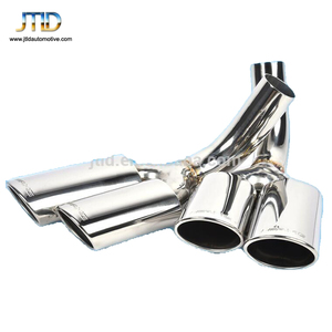Stainless Steel Auto Car Back Exhaust Muffler Tips For W463 AMG