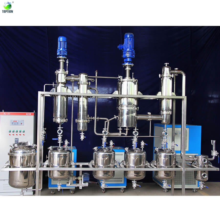 Canada 25l Hemp Seed Cbd Oil Extract Machine Short Path