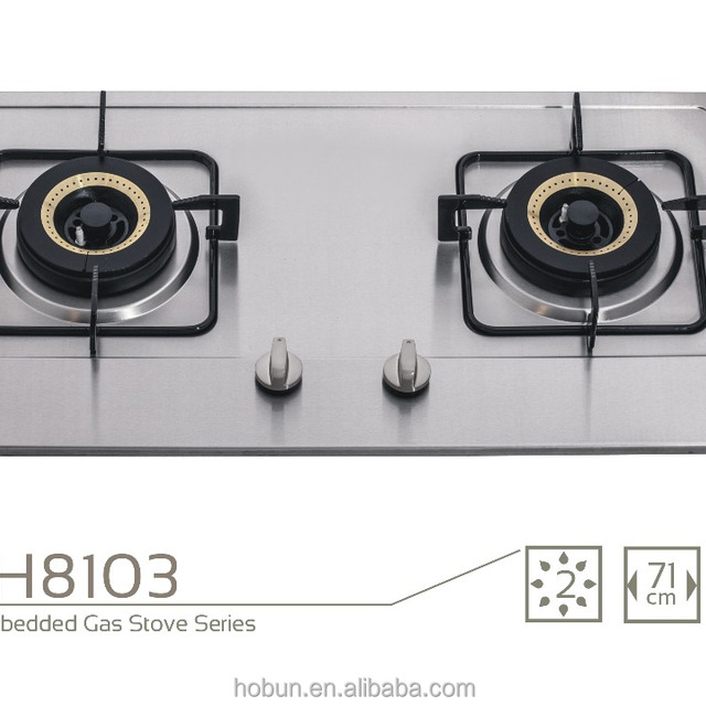 double used 2 burner gas cooktop gas stove for sale