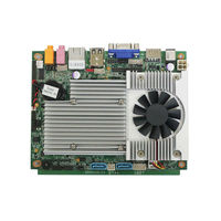 POS terminal mainboard motherboard for tablet pc P7350 Fanless board, CPU integrated