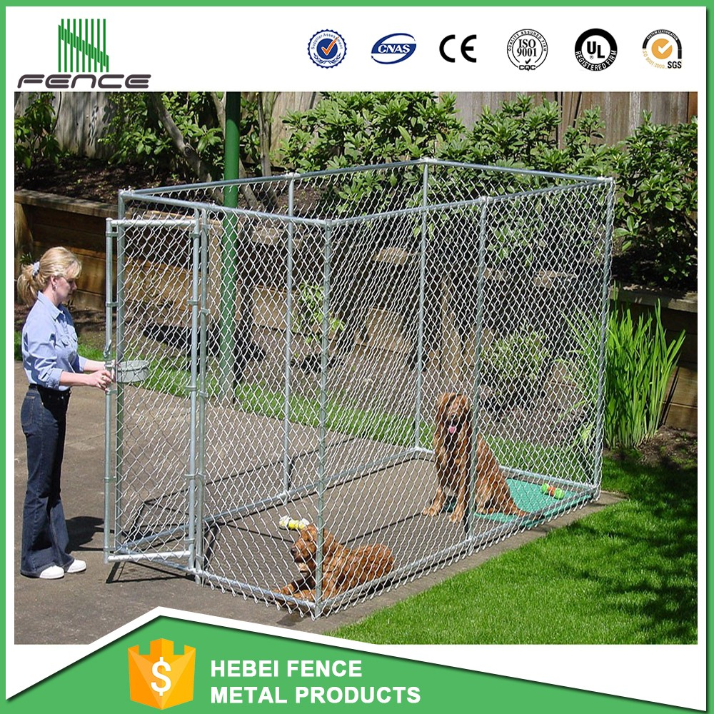 High quality powder coated or galvanized dog cage / 6ft dog kennel