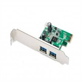 Digitus DS-30220-2 USB 3.0 5Gbps High speed PCI-Express Add-on card NEC D720200 Chipset 2 Ports A//f; 1x Lp Bracket 2-port