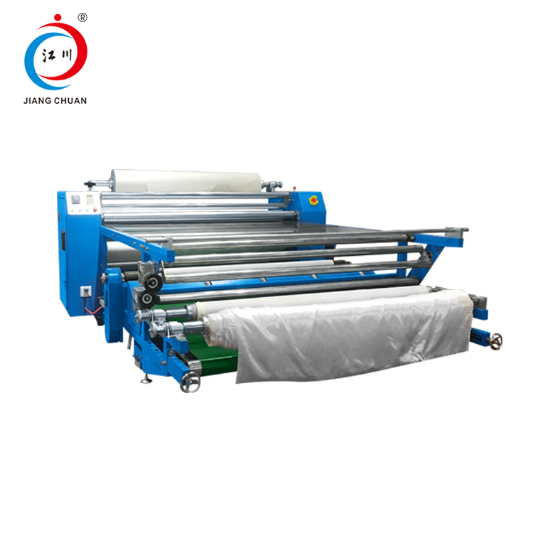 1.80 mts Digital Controller Calandra Roller Heat Transfer Sublimation Printing Machine