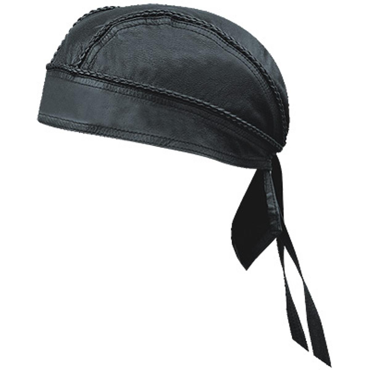 303d9d2bcc Hmb-901a4 Leather Skull Cap Black Braids Bandana Durag Hats Biker Choice -  Buy Leather Caps,Bandana Hats,Leather Skullcap Product on Alibaba.com