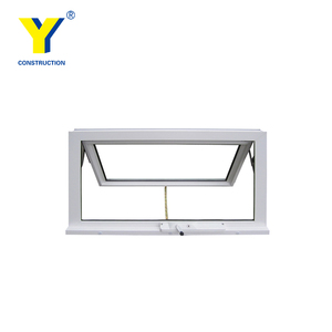 Rehau profile PVC&UPVC Triple Glaze Windows UPVC windoW with top quality manufacturer in Shanghai